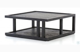 Irondale Drifted Black Charley Coffee Table