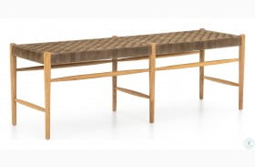 Irondale Clear Drift Soap Leather Wyatt Bench