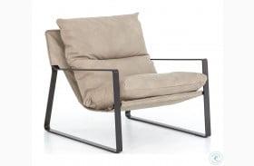 Kensington Natural Emmett Sling Chair Umber