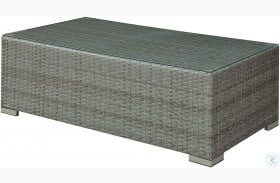 Somani Gray and Ivory Coffee Table