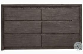 Java Dark Wood Gray Dresser