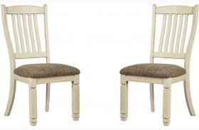 Bolanburg Two Tone Dining Side Chair Set of 2