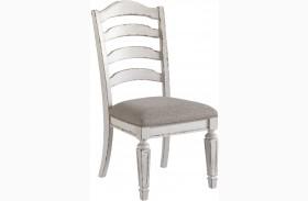Realyn Dining Upholstered Slatback Side Chair Set of 2