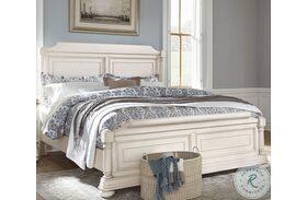 Lafayette White Sleigh Bed