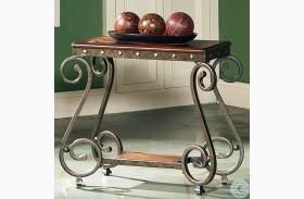 Ellery Medium Cherry Chairside End Table