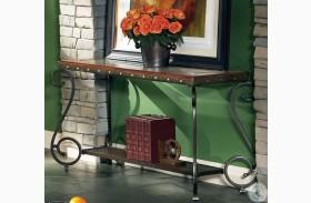 Ellery Medium Cherry Sofa Table