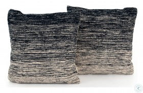 Nomad Indigo Ombre Midnight Ombre Square Pillow Set Of 2