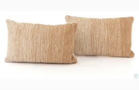 Nomad Flaxen Ombre Rectangular Pillow Set Of 2