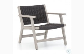 Solano Weathered Grey Rope Delano Outdoor Chair