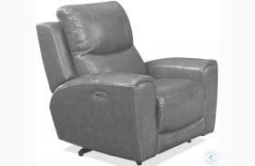 Laurel Grey Power Reclining Chair