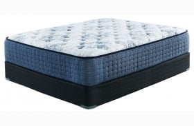 MT Dana Firm White Cal. King Size Mattress with Foundation