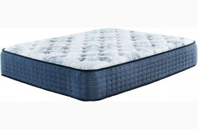 MT Dana Firm White Cal. King Mattress with Foundation