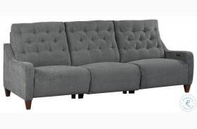Chelsea Willow Gray Power Reclining Sofa