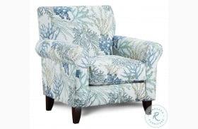 Grande Glacier Coral Reef Oceanside Accent Chair