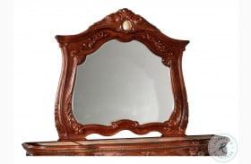 Cortina Honey Walnut Dresser Mirror