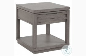 Pure Modern Soft Moonstone End Table