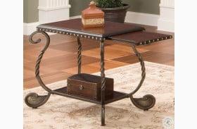 Rosemont Medium Cherry Chairside End Table