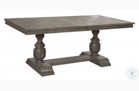 Lasalle Gray Rectangular Dining Table