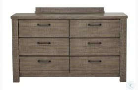 Ruff Hewn Gray Drawer Dresser