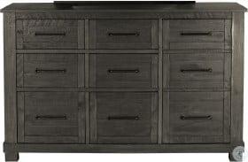 Sun Valley Charcoal 9 Drawer Dresser