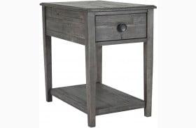 Borlofield Weathered Gray Rectangular End Table