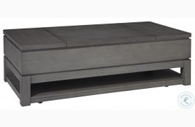 Caitbrook Gray Lift Top Coffee Table