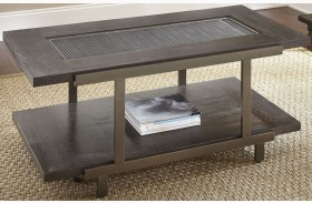 Terrell Smoky Brown Castered Cocktail Table