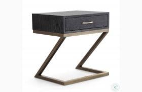 Mason Black Side Table