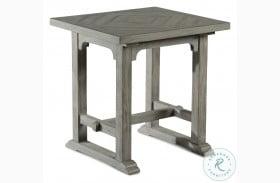 Whitford Dove Gray End Table