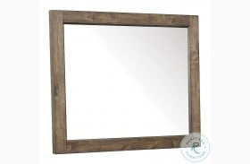 New Haven Rustic Amber Mirror