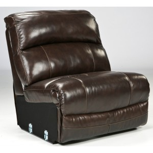 Damacio Dark Brown Armless Chair