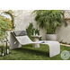 Grass Roots Paige Brushed Grey Outdoor Woven Chaise