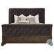 Landmark Russet Upholstered Sleigh Bedroom Set
