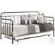 Manor Dark Bronze Metal Twin Daybed with Trundle