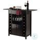 Yukon Espresso Wine Cabinet
