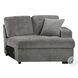 Logansport Gray Sectional with Pull out Bed