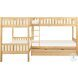 Bartly Natural Pine Youth Corner Bunk Bedroom Set With Trundle