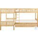 Bartly Natural Pine Youth Corner Bunk Bedroom Set With Storage Boxes