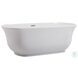 "Coralie Glossy White 67"" Bath Tub"