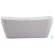 "Harrieta Glossy White 67"" Bath Tub"