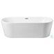 BT10665GW Odette Glossy White Oval Bathtub