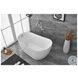 BT10854GW Chantal Glossy White Oval Bathtub