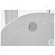 BT10867GW Chantal Glossy White Oval Bathtub