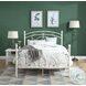 HM1800FW-1 White Full Metal Bed