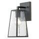 """Osmond 5"""" Matte Black 1 Light Outdoor Wall Sconce"""