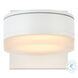 LDOD4013WH Raine White Round Outdoor Wall Light