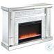 Lorelei Silver Fireplace