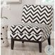 Armond Black And White Chair