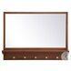 MR502821PE Elle Pecan Rectangle Vanity Mirror