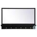 MR503421BK Elle Black Rectangle Vanity Mirror